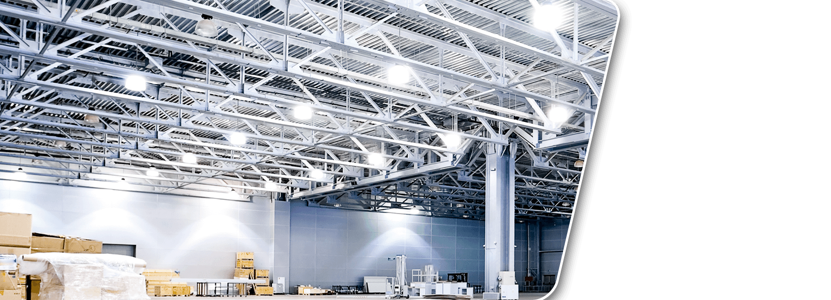 Illuminazione led industriale