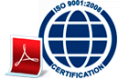 certificato iso9001:2004
