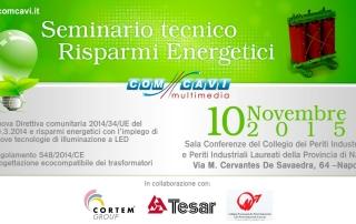 Seminario Tecnico Risparmi Energetici