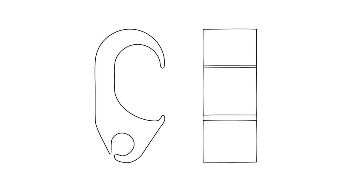 Connettore unipolare di derivazione