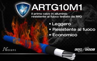 Cavo Resistente al fuoco in alluminio