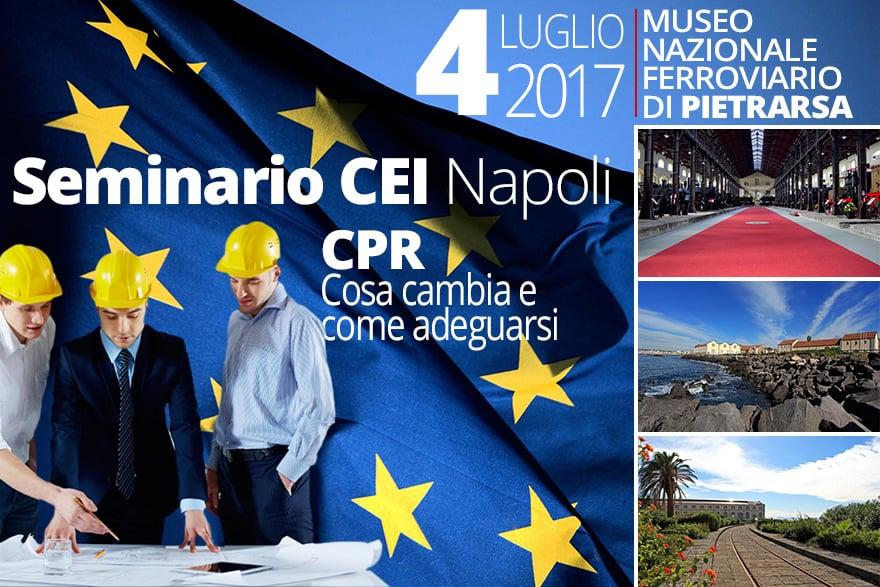 Seminario CEI Napoli Nuovo Regolamento CPR