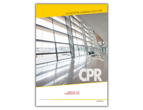 Catalogo Cavi CPR