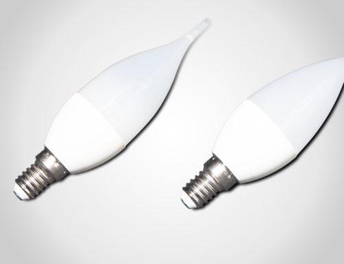 Lampada LED oliva/candela