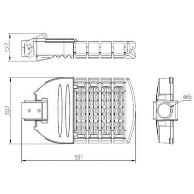 armatura-stradale-led-120w-disegno
