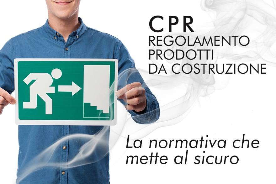 regolamento prodotti da costruzione cpr