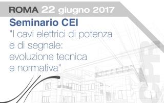 Seminario CEI Cavi elettrici