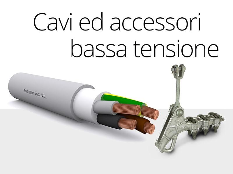 Forniture per installatori Enel cavi ed accessori