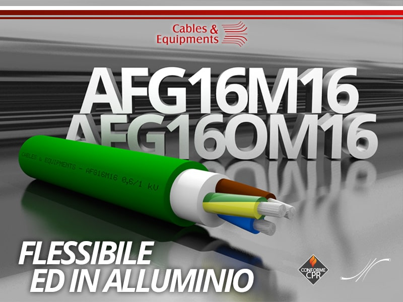 Cavi Flessibili e in Alluminio-AFG16M16-AFG16OM16